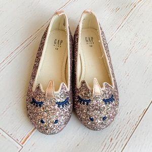 Glitter unicorn shoes